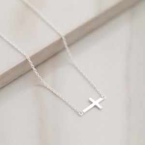 Cross Necklace   925 Silver